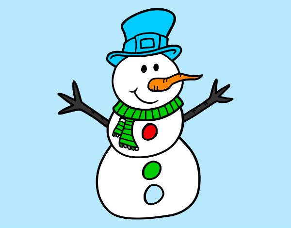 Dibujos de invierno para colorear for Dibujos de navidad pintados