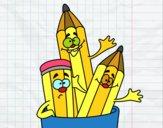 Dibujo Lapices de colores pintado por JuanMar3