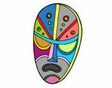 Máscara enfadada