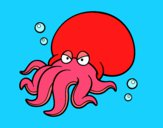 Dibujo Octopoda pintado por abelordone