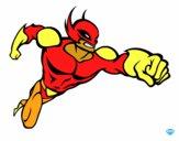 Dibujo Superhéroe sin capa pintado por pokemero12