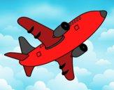 Avión alzando el vuelo