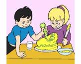 Pastel para mama