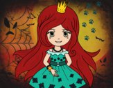 Dibujo Princesa primavera pintado por ClaudiaSNK