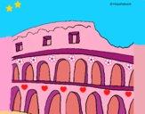 Dibujo Coliseo pintado por LunaLunita