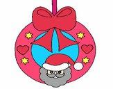 Dibujo Adorno navideño pintado por Potte