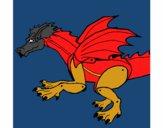 Dragón feroz