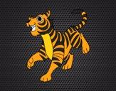 Un tigre de bengala