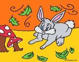 Dibujo Conejo 3 pintado por Potte
