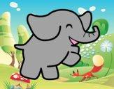Elefante bailarín