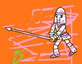Caballero con lanza