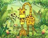 Mamá jirafa