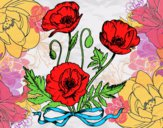 Dibujo Unas amapolas pintado por anahi22005