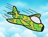 Avión de camuflaje