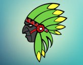 Cara del indio jefe