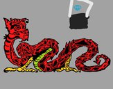 Dragón oriental