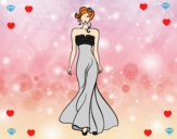 Vestido de boda elegante