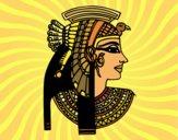 Dibujo Perfil de Cleopatra pintado por Brando_201