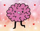 Dibujo Cerebro kawaii pintado por neko_chan7