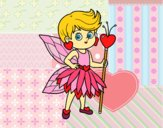 Dibujo Hada princesa de corazones pintado por gloria_pri