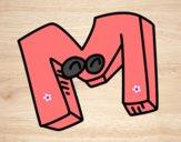 Dibujo Letra M pintado por Micaela510