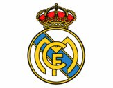 Dibujo Escudo del Real Madrid C.F. pintado por jrerertert