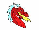 Cabeza de dragón europeo