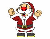 Santa Claus Riendo