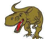 Tiranosaurio Rex enfadado