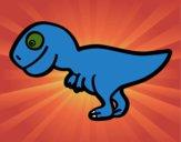 Tiranosaurio rex joven