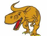 Dinosaurio enfadado