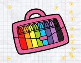 Dibujo Rotuladores de colores pintado por bella5000