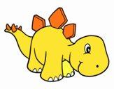 Estegosaurio bebé