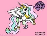 Dibujo Princess Celestia pintado por borreguito