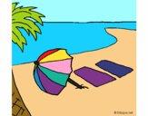 Dibujo Verano 4 pintado por kargu