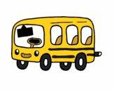 Dibujo Un autobús escolar pintado por nenita5