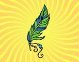 Dibujo Pluma apache pintado por JuanMar3