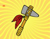 Dibujo Tomahawk pintado por JuanMar3