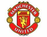 Dibujo Escudo del Manchester United pintado por elPety1708