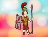 Un soldado romano