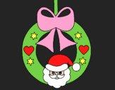 Dibujo Adorno navideño pintado por Alefandra