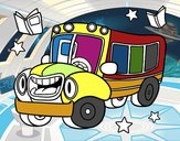 Autobús animado