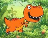 Dibujo Tyrannosaurus pintado por Tenochrey