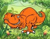 Dibujo Tyrannosaurus Rex pintado por Tenochrey