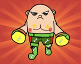 Boxeador calvo