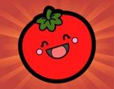 Tomate sonriente