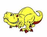 Dibujo Tyrannosaurus Rex pintado por MARIELYSSS