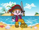 Un niño pirata