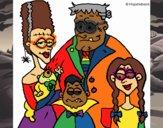Familia de monstruos