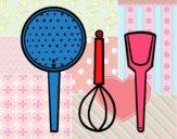 Los utensilios de cocina
